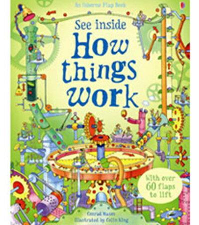 SEE INSIDE:HOW THINGS WORK ~ Usborne 高年級    停