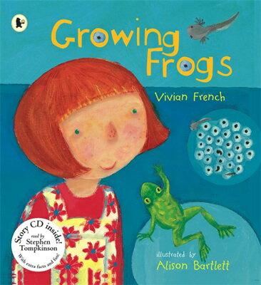 Growing Frogs (書+CD) - Walker Books/ 中高年級(預購)