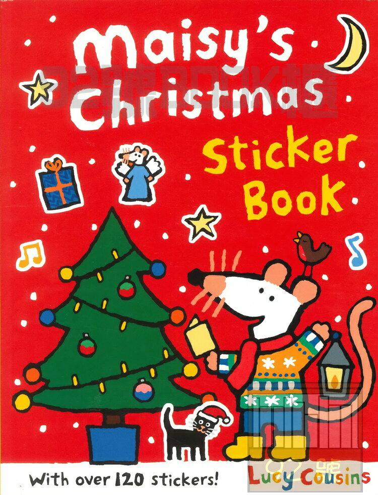 MAISY'S CHRISTMAS STICKER BOOK (WALKER BOOKS)