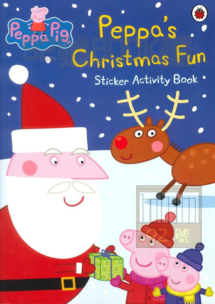 Peppa #x27 s Christmas Fun Sticker Activity B