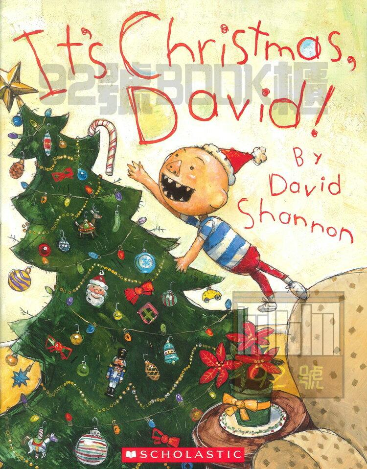 No, David!: It's Christmas, David!(SCHOLASTIC)