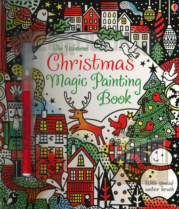 Christmas magic painting Book Usborne