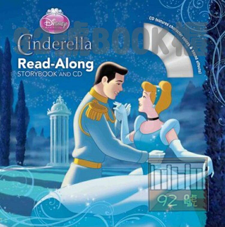 Cinderella Read-Along Storybook  (附CD)