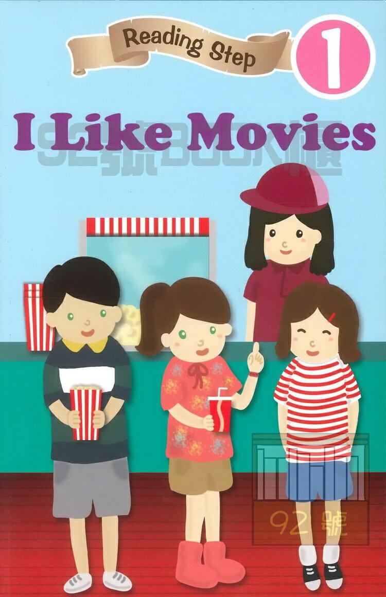 Reading Step 1 : I like movies