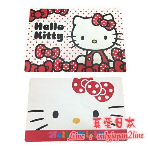 【真愛日本】  16091000054多用途大墊板-KT兩款  三麗鷗 Hello Kitty 凱蒂貓  文具用品 墊板