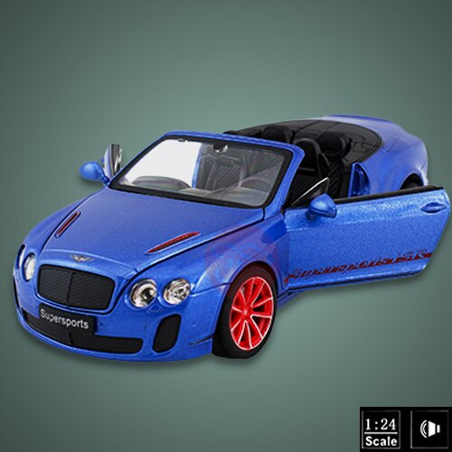 【瑪琍歐玩具】1:24授權合金GT Supersport ISR(敞篷版)
