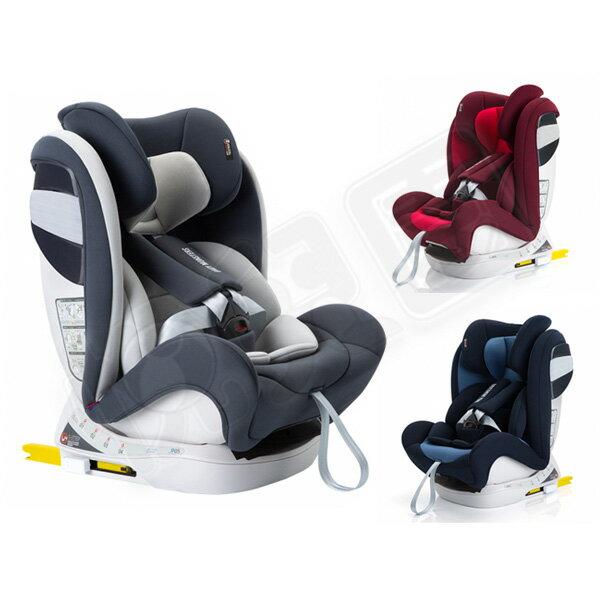 【附贈汽座防滑保護墊】Baby Monsters Guardia 0-12歲全階段isofix汽車安全座椅【悅兒園婦幼生活館】