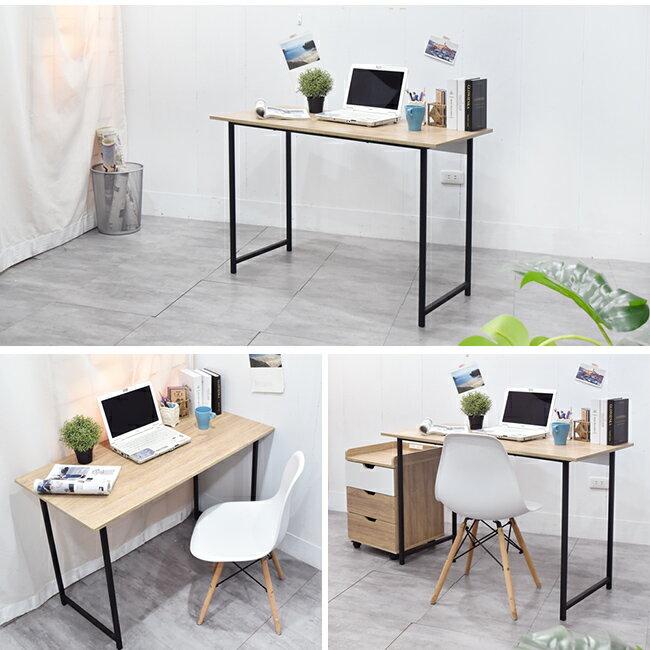 電腦桌 / 桌 / 書桌 木紋風105x55x75cm工作桌電腦桌 凱堡家居【B04790】 7