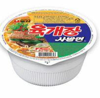 【韓新館】農心 辣牛肉風味湯麵(碗麵) (缺貨中)