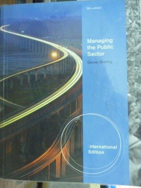 【書寶二手書T9/大學商學_QNZ】Managing the Public Sector_9/e
