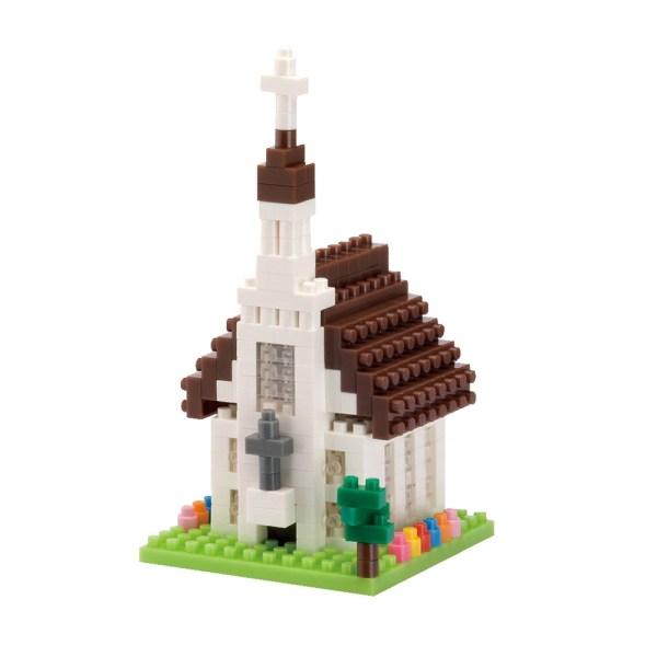 【Tico微型積木】教堂 T-9211