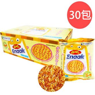 韓國Enaak小雞香脆點心麵16g×30包【盒】零嘴隨手包480g/雞汁味〔網購家〕