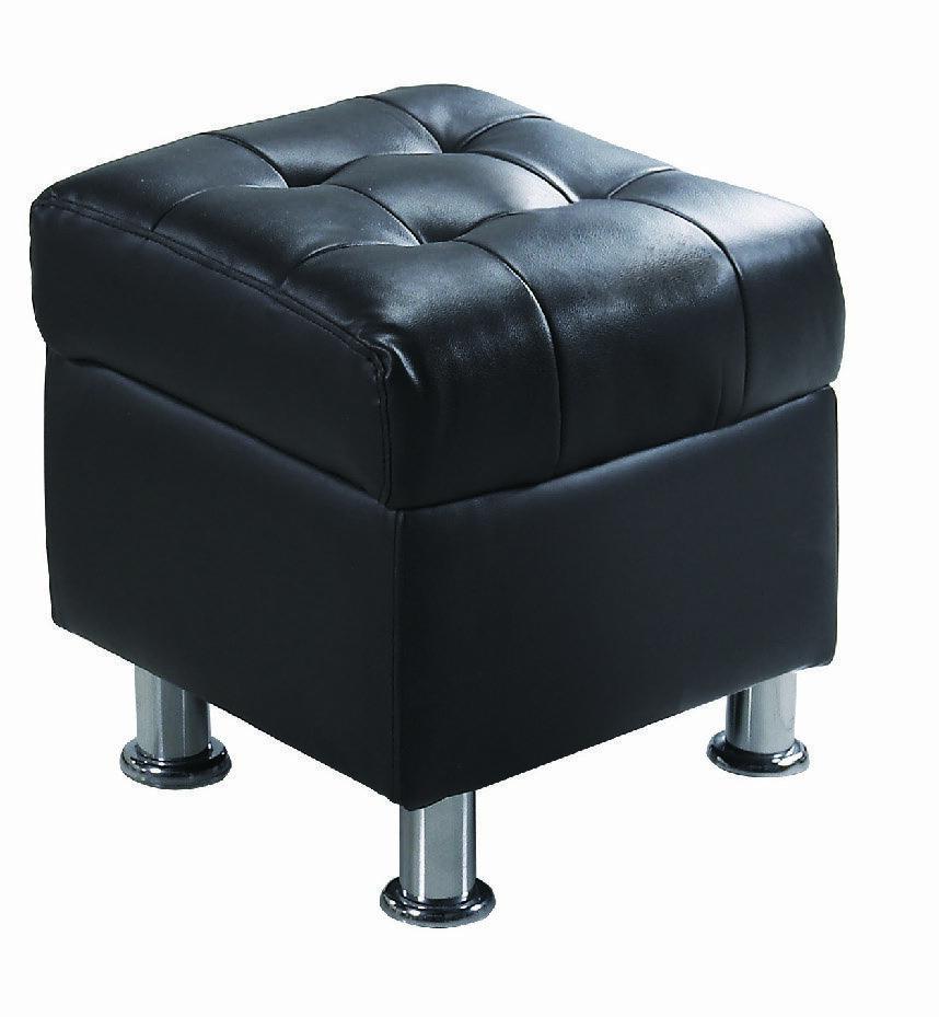 【石川家居】KF-690-3 庫倫40深咖啡皮沙發椅凳(不含其他商品) 需搭配車趟