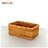 DecoBox藤編長方茶具小收納籃(茶道,藤編包) 1