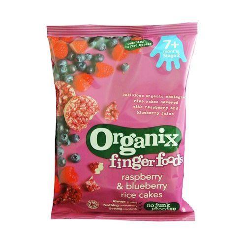 英國Organix歐佳有機寶寶莓果米餅7m+