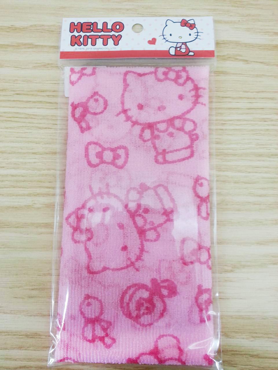 【真愛日本】16013000022 沐浴巾-KT粉 KITTY 凱蒂貓 三麗鷗 沐浴巾 澡巾 生活用品