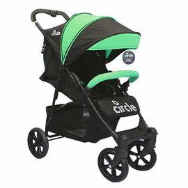 『121婦嬰用品館』德國 Circle TREVISO 4S 4輪手推車/推車/嬰兒推車-綠