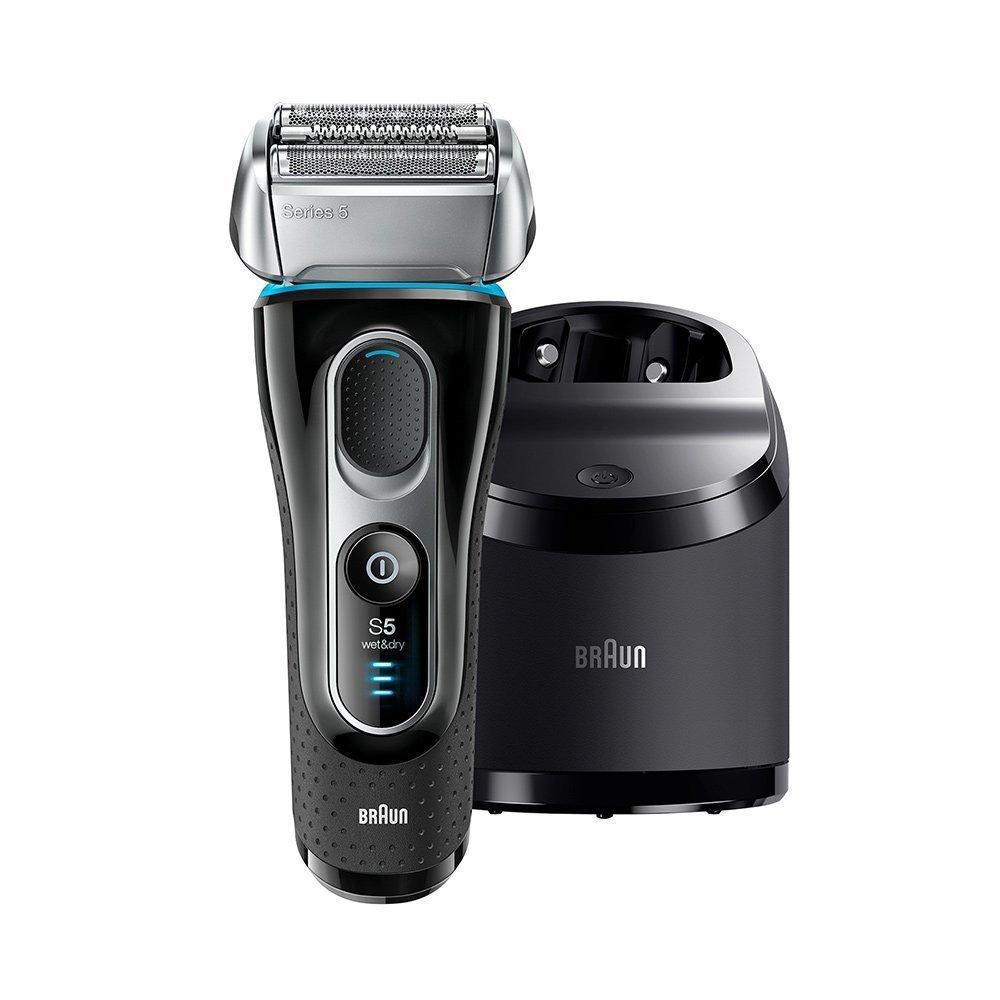 全新 德國百靈 BRAUN 5197CC 刮鬍刀 5系列靈動貼面 電鬍刀 自動清潔充電系統 5090CC 新款