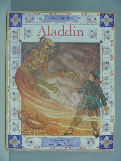 【書寶二手書T1/少年童書_ZDK】Aladdin_Lesley Young