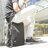 PackChair椅子包 盾牌包 防身包 電腦包 後背包 自助旅行包 黑色有胸扣版 2