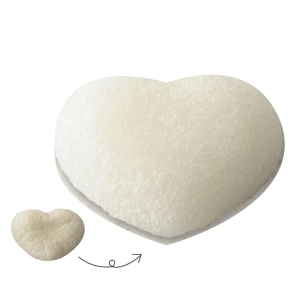 天然愛心造型洗臉潔顏蒟蒻海綿KA14