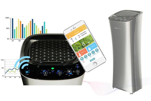 安心加族-iClean 小腰機/ 智慧物聯網空氣清淨機