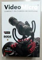 現貨 RODE VideoMicro 微型指向性麥克風 平輸 Video Micro 收音麥克風 不用電 直播 採訪 網紅-3C 柑仔店-3C特惠商品