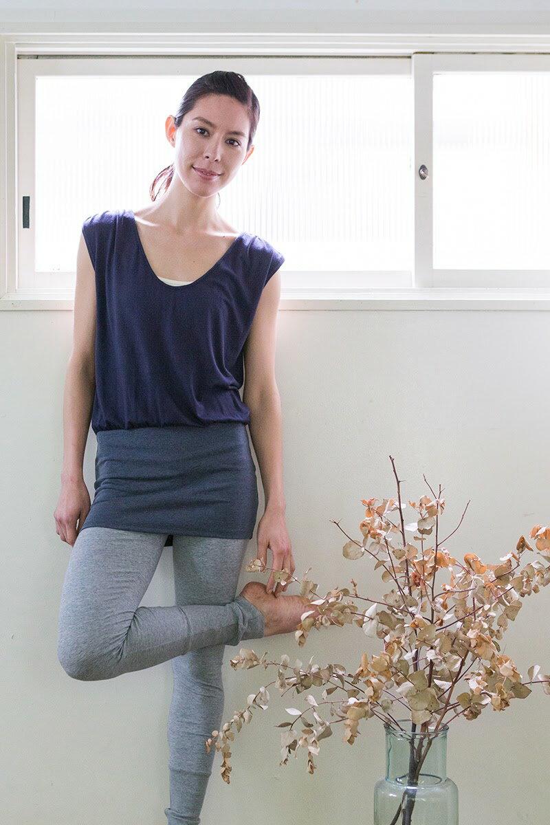 【Kyoto】輕盈瑜珈短洋裝 1