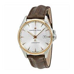 Hamilton 漢米爾頓 JazzMaster 爵士型男腕錶 H32441551 咖啡 玫瑰金 40mm