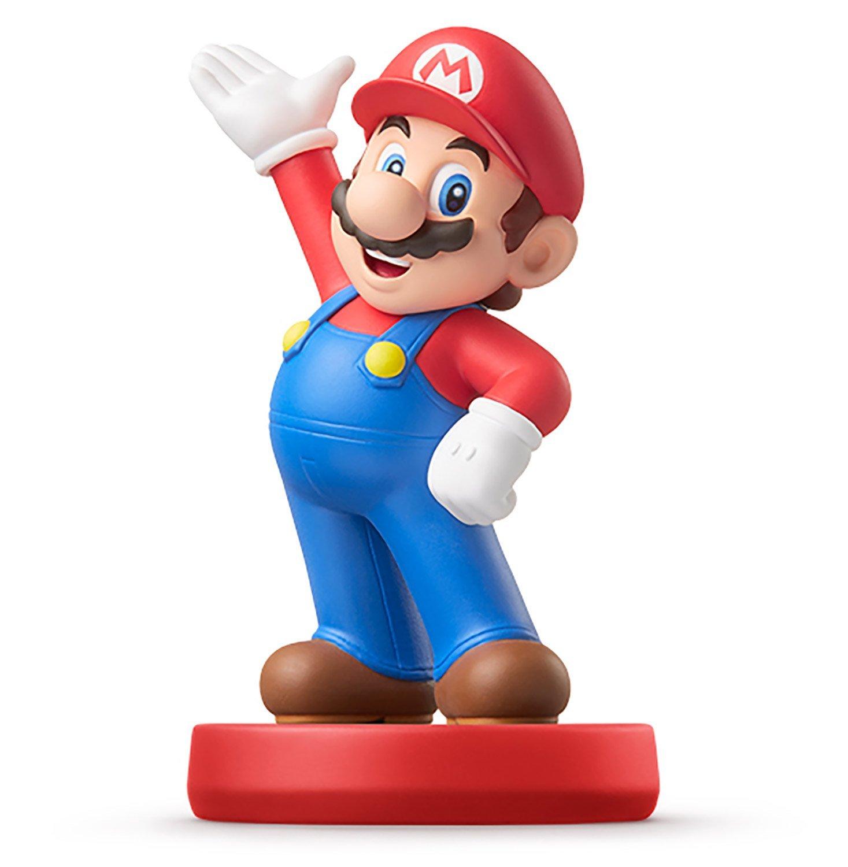 Amiibo Mario 馬莉歐 馬力歐 互動 Wii U/New3DS/New3DS LL 公仔 超級瑪莉系列