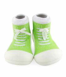 【本月特價$599】韓國【Attipas】快樂腳襪型學步鞋-律動綠 - 限時優惠好康折扣