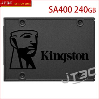 【最高現折$350】Kingston 金士頓 A400 240GB 240G 2.5吋 SATA3 SSD 固態硬碟 SA400S37