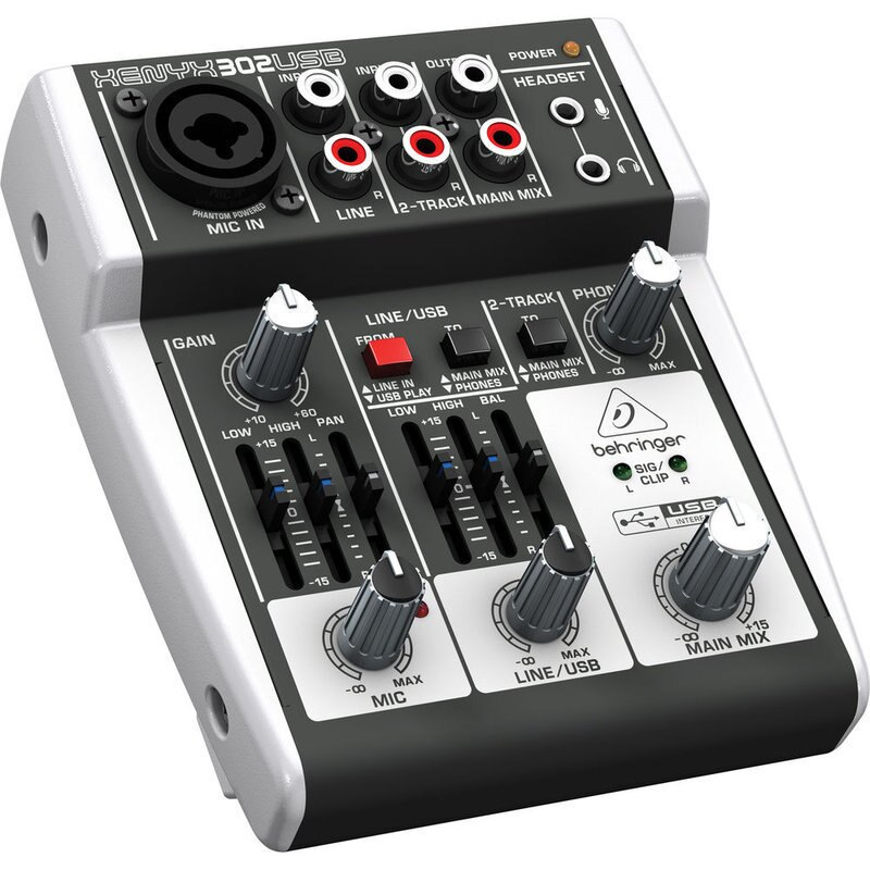 ㊣胡蜂正品㊣ 全新德國BEHRINGER耳朵牌 XENYX 302USB 302 USB 混音器 USB介面