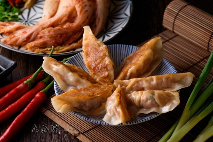六品閣 韓式泡菜鍋貼(一袋24入) 2