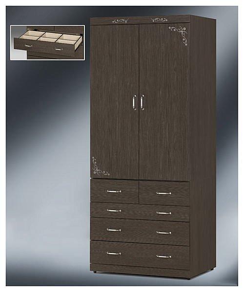 【尚品傢俱】EY-22 貝納頌3x7衣櫃~(另有4x7衣櫃)