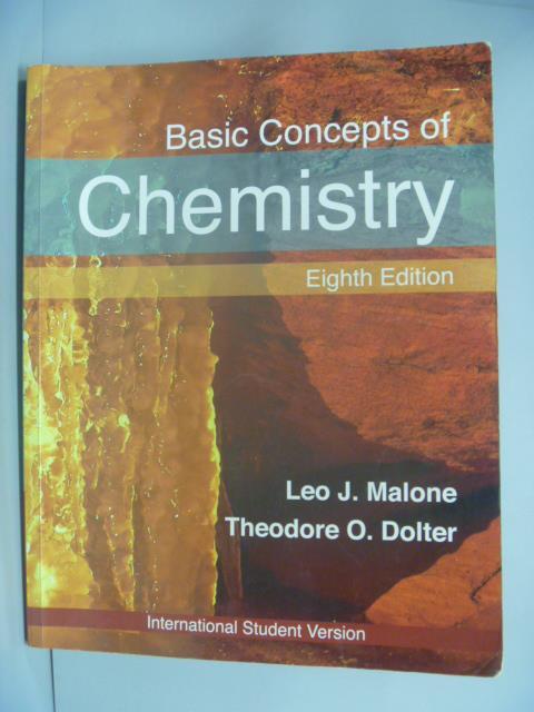 【書寶 書T6/大學理工醫_WFQ】Basic Concepts of Chemistry