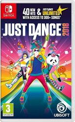 【全新未拆】任天堂 Switch NS 舞力全開 2018 Just Dance 2018 英文版【台中恐龍電玩】