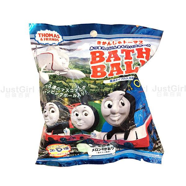 湯瑪士小火車 沐浴球 泡澡球 入浴球 入浴劑 居家 玩具 正版日本進口 JustGirl