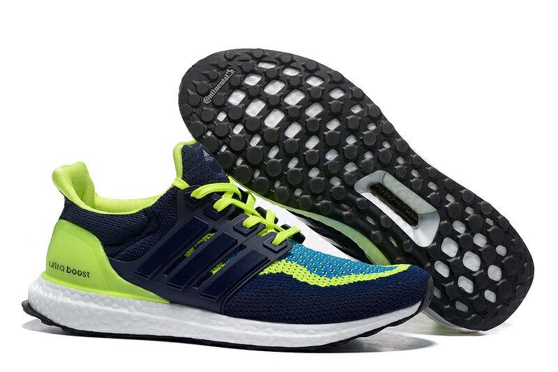 Adidas boost 頂級針織鞋面休閒跑鞋 男款