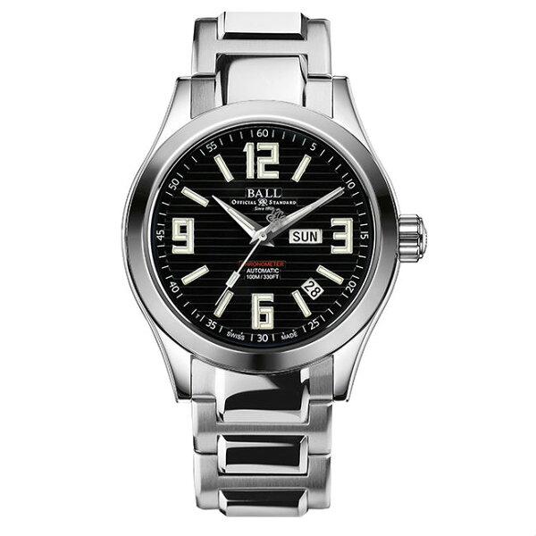 大高雄鐘錶城:BALL波爾錶NM2026C-S2CA-BKEngineerII天文台紳士大三針腕錶黑面40mm