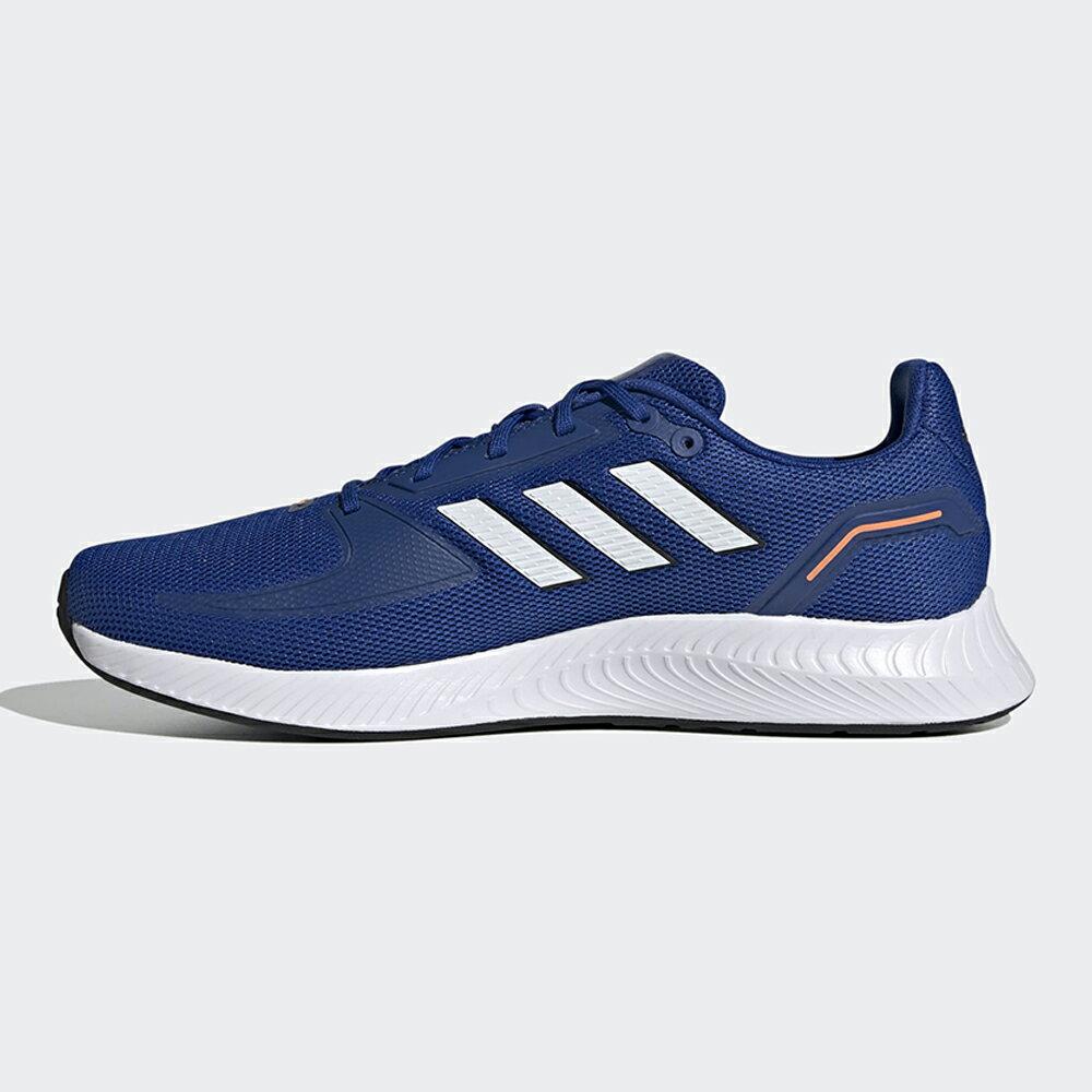 【滿額最高折318】ADIDAS RUNFALCON 2.0 男鞋 慢跑 訓練 支撐 透氣 輕量 藍 白【運動世界】FZ2802