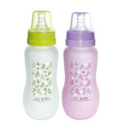 優生 真母感特護玻璃奶瓶一般口徑240ml(紫.綠)【德芳保健藥妝】顏色隨機出貨