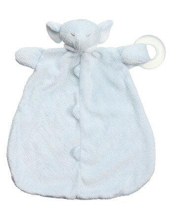 ~美國 Angel Dear~動物嬰兒固齒安撫巾 ─ 藍色大象