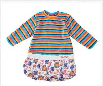 ☆Babybol☆女童冬裝兩件套, 套裝包含(裙子、褲襪)【24105】 3