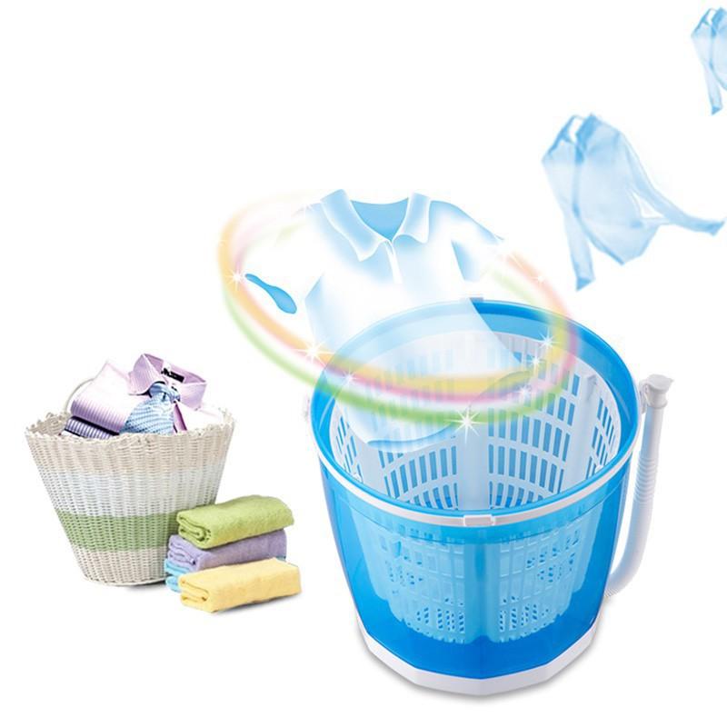 ★現貨★ 手搖洗衣機 迷你小型脫水機 甩乾器 洗脫兩用半自動洗衣機