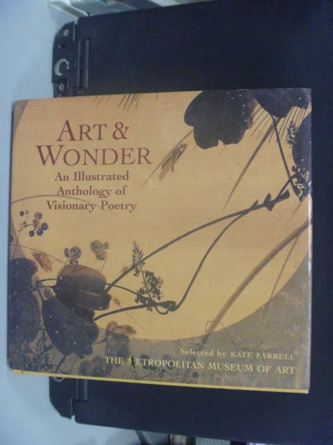 ~書寶 書T2/藝術_NKP~Art and Wonder _Kate Farrell