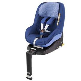【淘氣寶寶】荷蘭MAXI-COSIiSize2wayPearl雙向幼兒安全座椅藍紫色+MaxicosiiSize2wayFix智慧型汽座底座組合