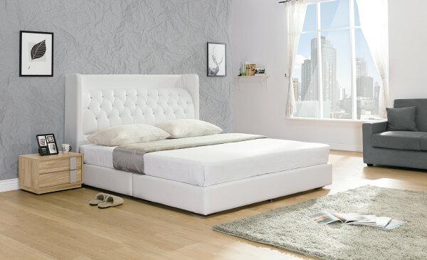【尚品家具】HY-A93-05米蘭白色5尺床頭片~另有6尺