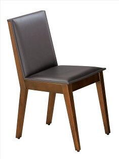 【石川家居】JF-483-16威靈頓胡桃咖啡馬鞍皮餐椅(單只)(不含其他商品)台北到高雄搭配車趟免運