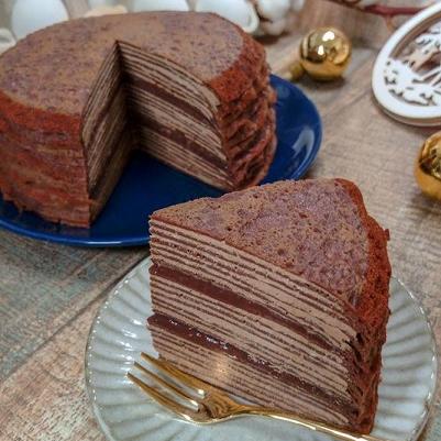 【朱古力千層蛋糕】6吋